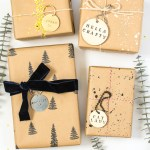 DIY Key Ring Gift Tags in Wood or Metal