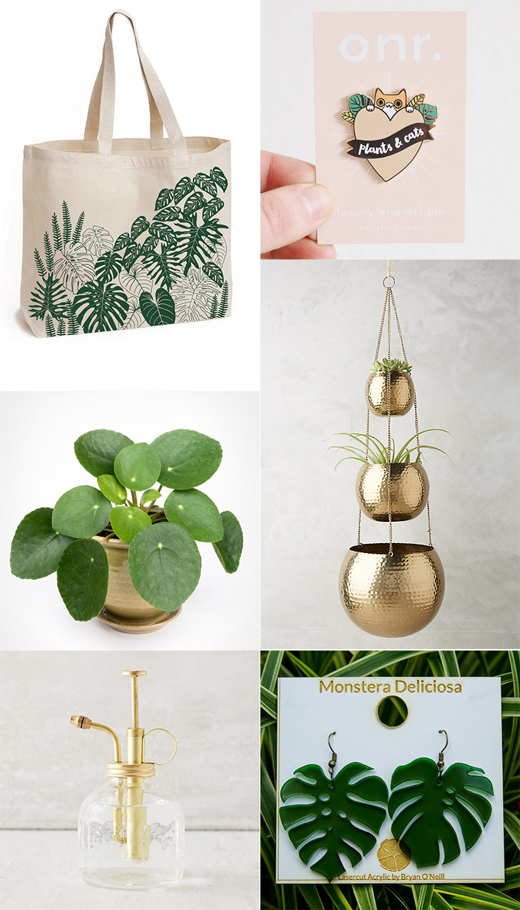 Gifts perfect for the plant lady in your life. #plants #gifts #plantlady
