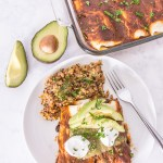 Veggie-Loaded Vegan Enchiladas