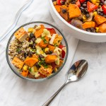 Sheet Pan Meal: Sweet Potato and Black Bean Hash