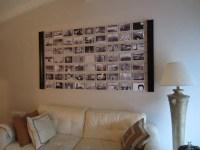 DIY Photo Wall Dcor Idea- DIYInspired.com