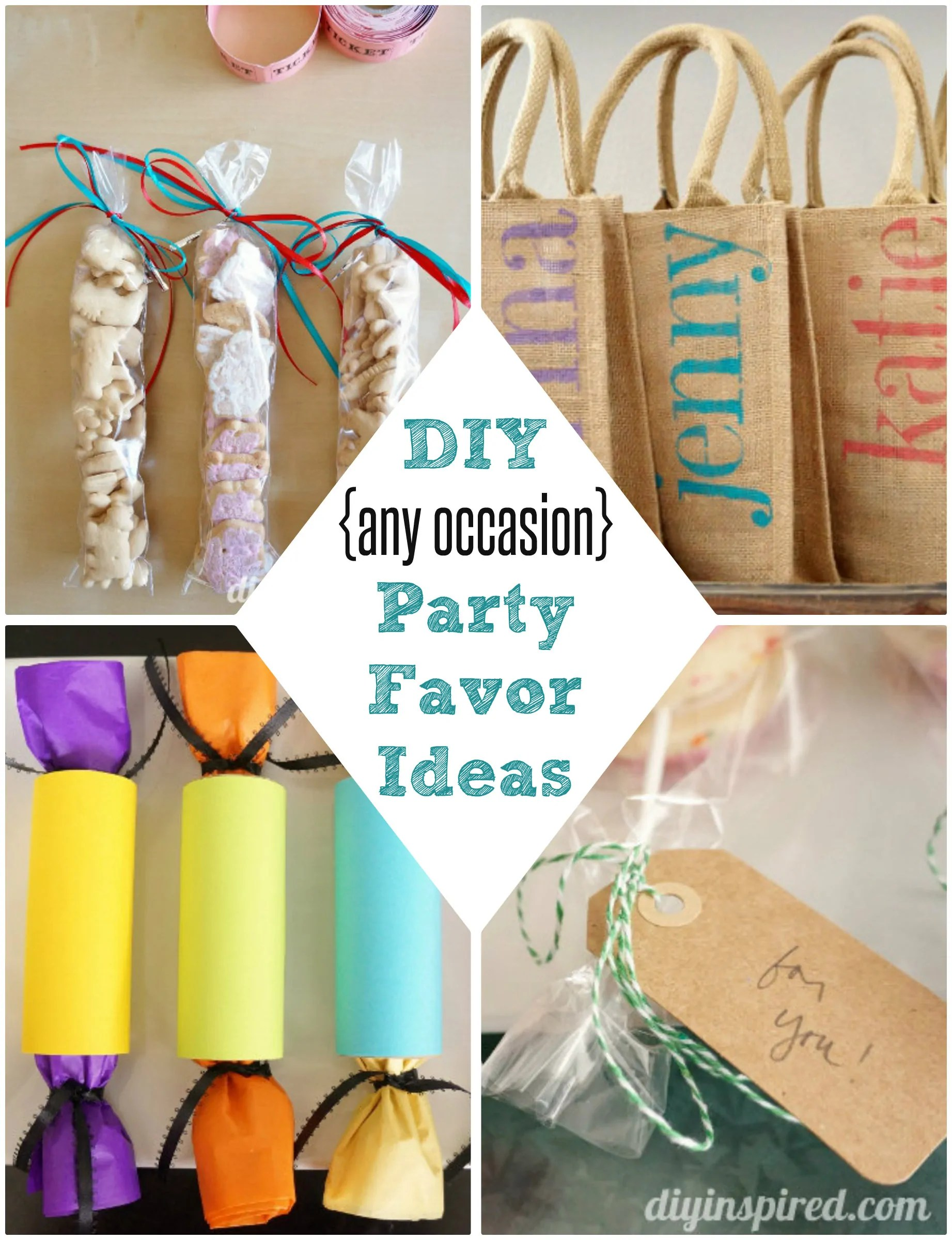 Diy Party Diy Party Favor Ideas Diy Inspired