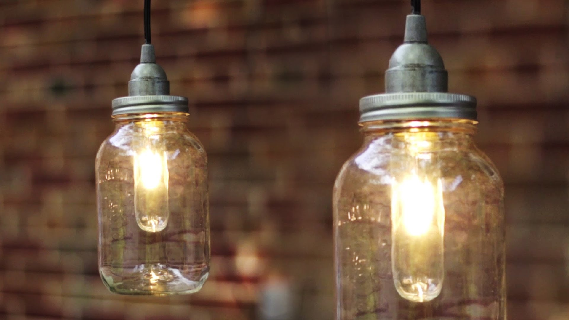 Wagon Wheel Chandelier Diy Mason Jar Pendant Lights