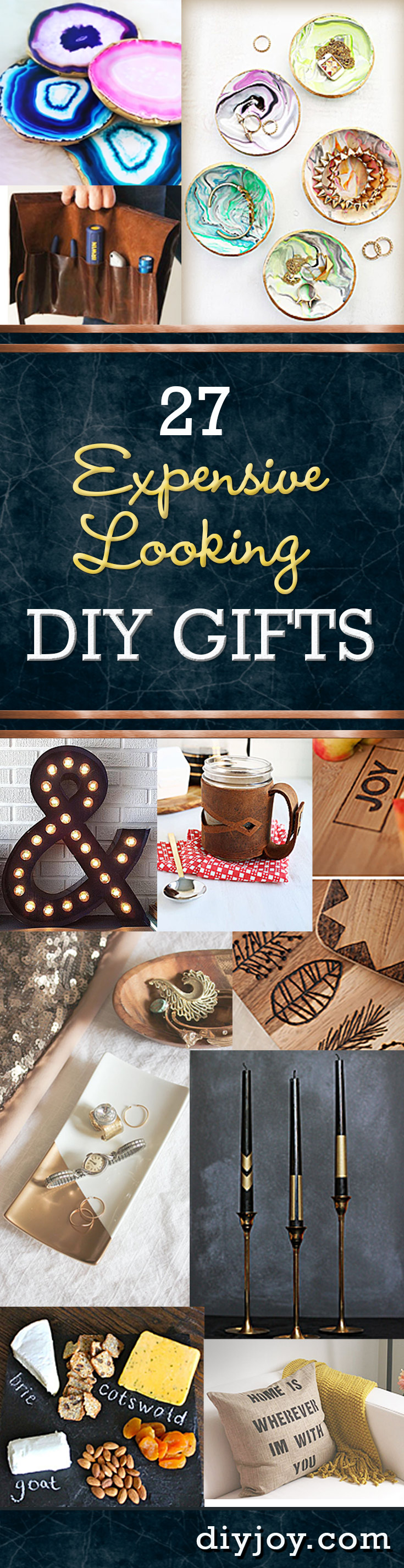 Diy Pinterest Inexpensive Diy Gifts To Make For Christmas Birthdays Diy Joy