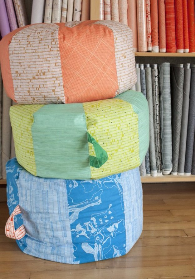 32 Fabulous DIY Poufs Your Living Room Needs Right Now! - Page 3 - poufs for living room