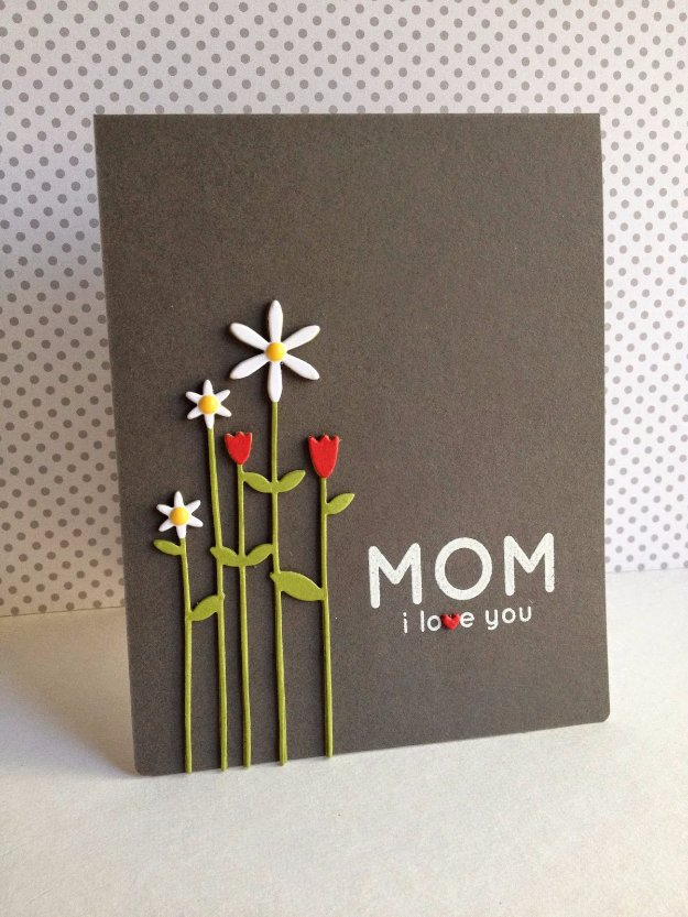 Faltkarte Basteln 31 Diy Mother's Day Cards