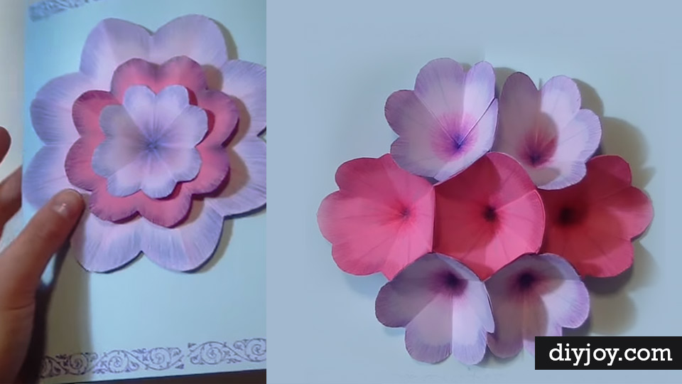 Creative DIY Mother\u0027s Day Card With Pop Up Flowers