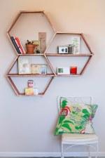 DIY Honey B Shelves
