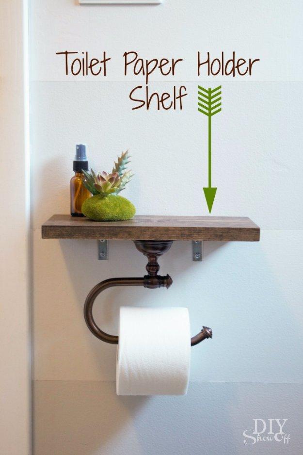 31 Brilliant DIY Decor Ideas for Your Bathroom - DIY Joy - bathroom decorating ideas on a budget