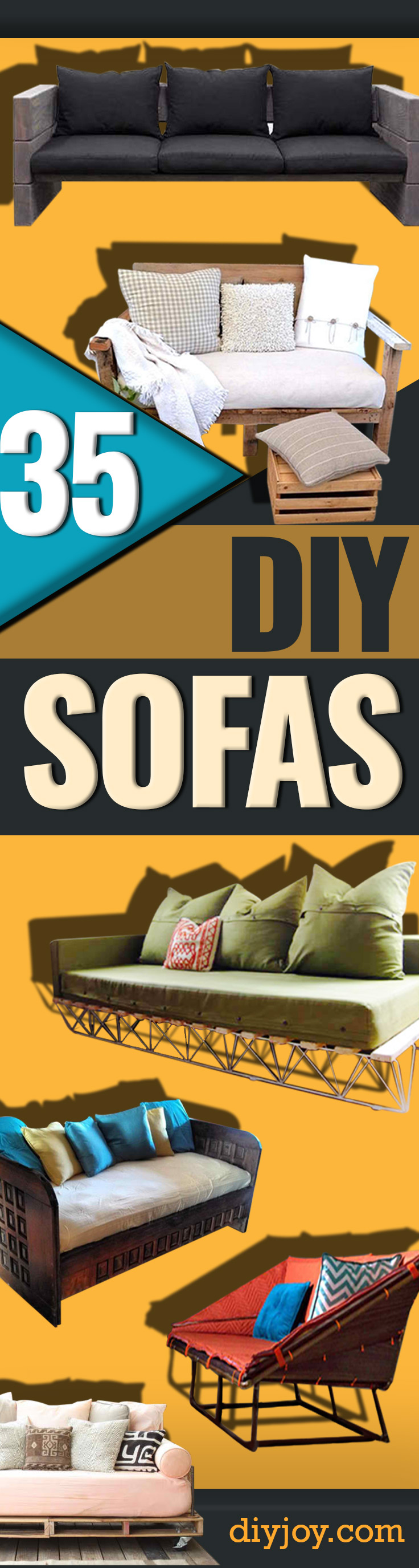 Sofa Couch Sofas 35 Super Cool Diy Sofas And Couches