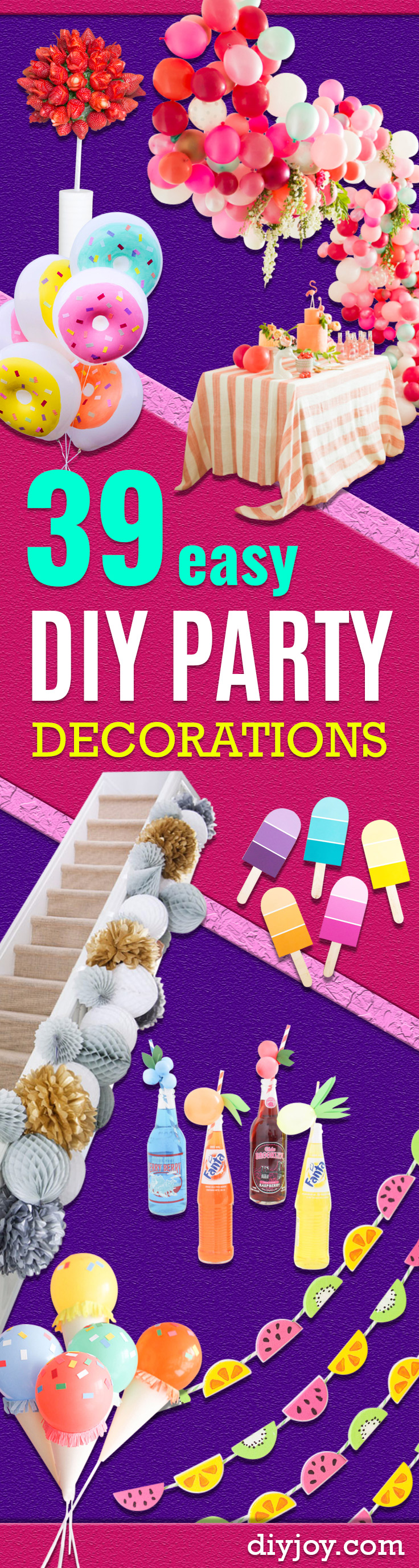 Diy Party 39 Easy Diy Party Decorations