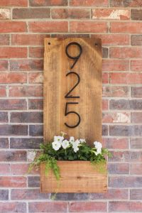 35 Creative DIY House Numbers That Are Better Than ...