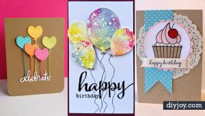Easy Creative Ideas For Birthday Cards