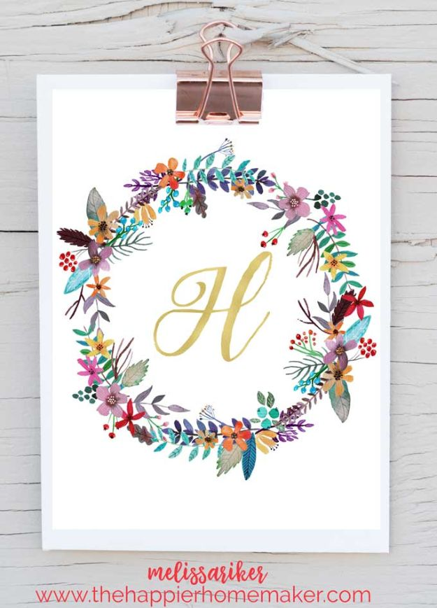 50 Best Free Printables for Craft Projects