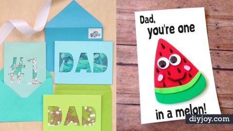 40 Thoughtful DIY Father\u0027s Day Cards - father day cards