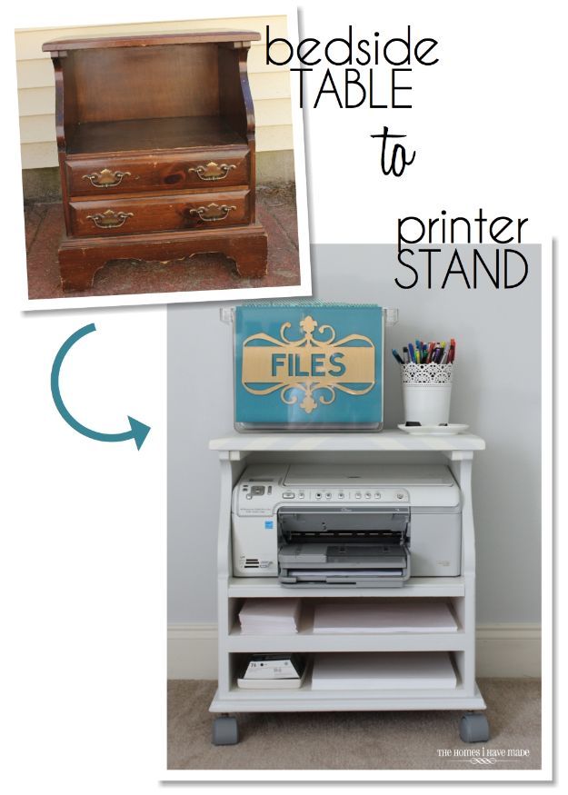 Rolling File Cabinet Ikea 34 Stylish Diy Home Office Furniture And Decor Projects