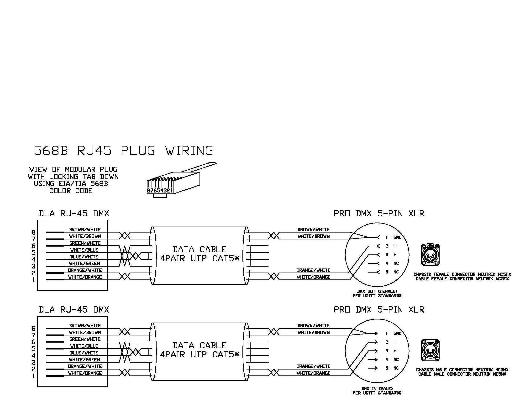 610 To Rj45 Wiring Diagram