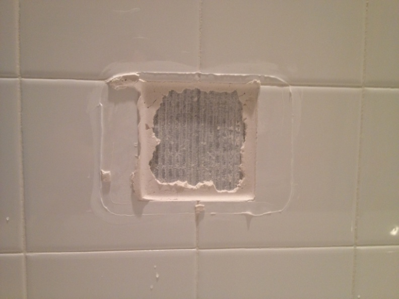 How To Replace A Broken Tile Soap Dish In A Shower –