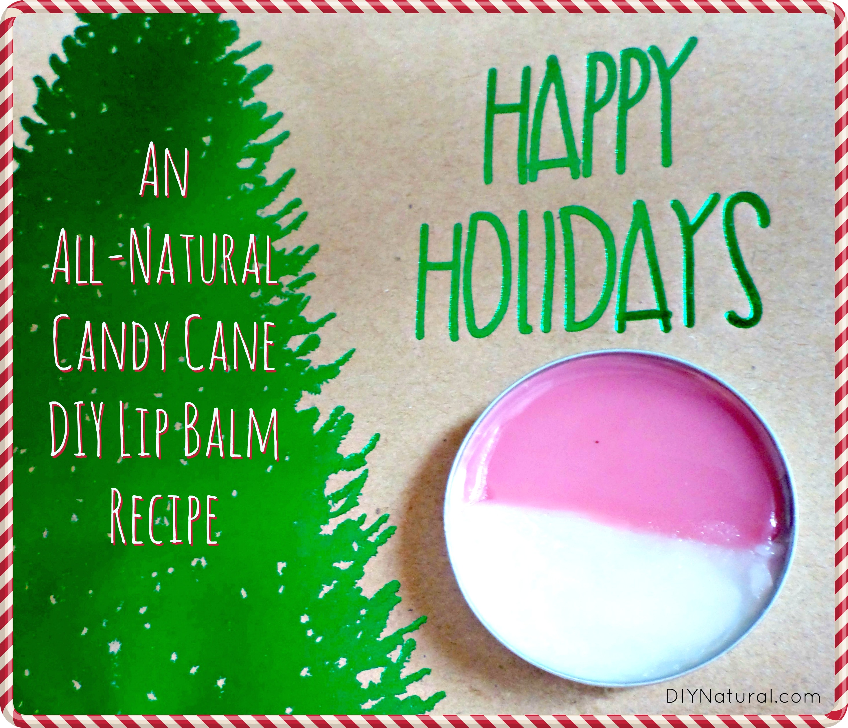 Diy Lip Balm Flavors Peppermint Lip Balm Recipe A Natural Candy Cane Look And Flavor