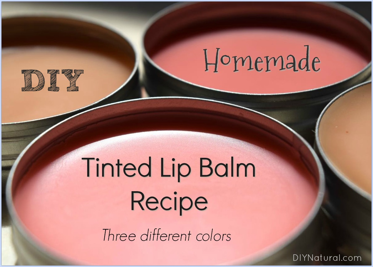 Diy Lip Balm Flavors Diy Tinted Lip Balm Recipes For 3 Different Shades Of Lip Balm