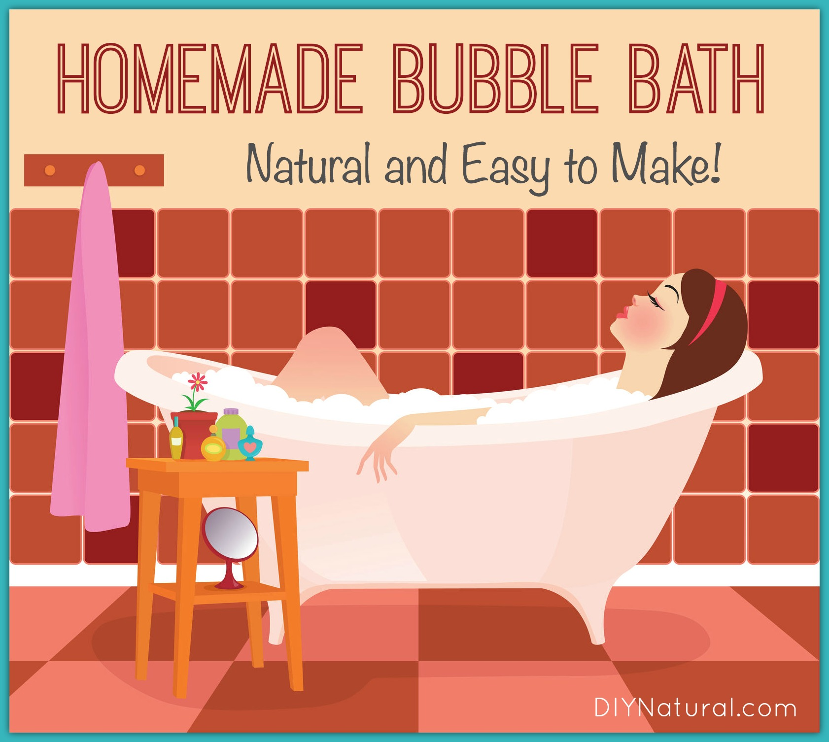 Diy Soap Without Glycerin Homemade Bubble Bath A Bubble Bath Recipe Without All The