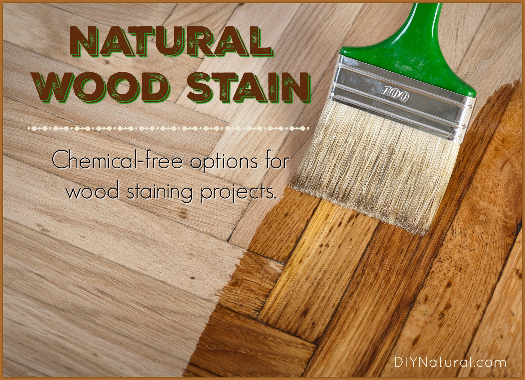 Diy Deck Cleaner Homemade Wood Stain Learn To Make Natural Stain At Home