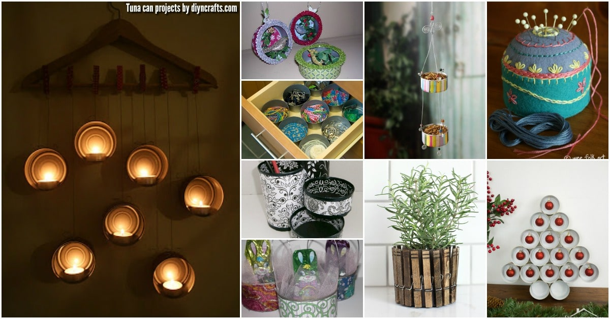Diy Upcycling 20 Frugally Genius Ways To Upcycle Empty Tuna Cans - Diy