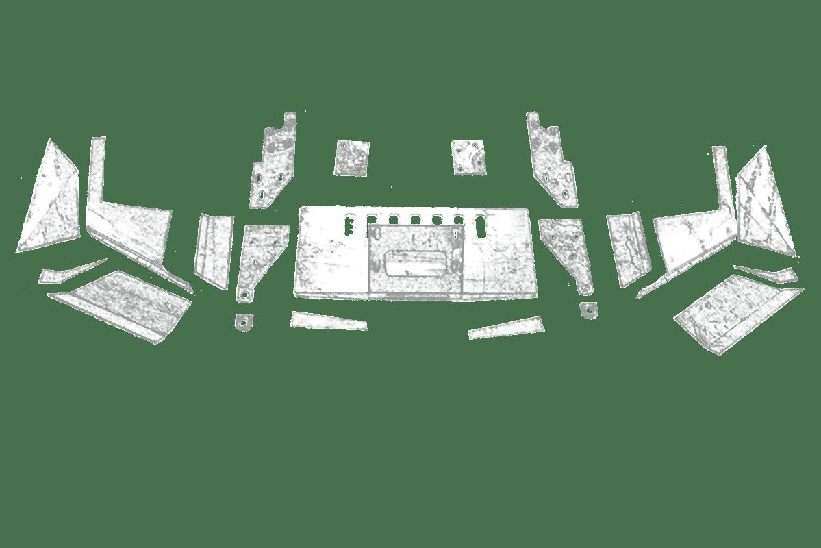 2016 jeep grand cherokee steel bumpers