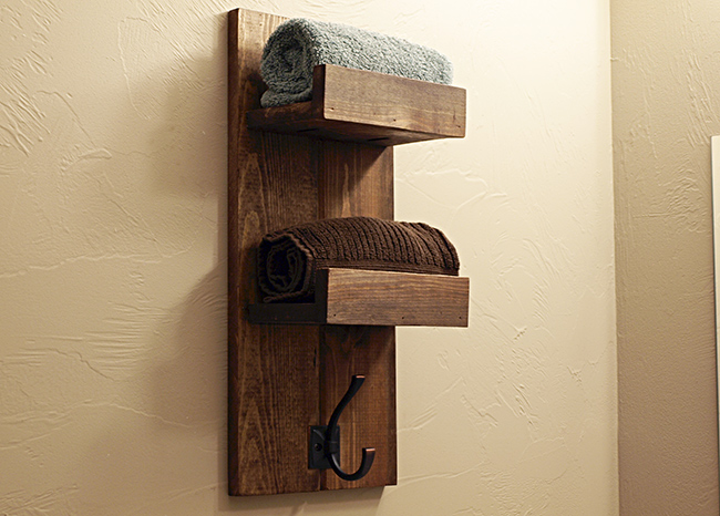 Holz Handtuchhalter How To Make A Wooden Towel Rack