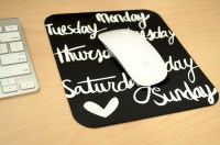 Make Fantansic Mouse Pads by Sublimation paper,   FeiYue Paper