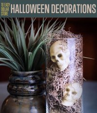 Dollar Store Halloween Decorations DIY Projects Craft