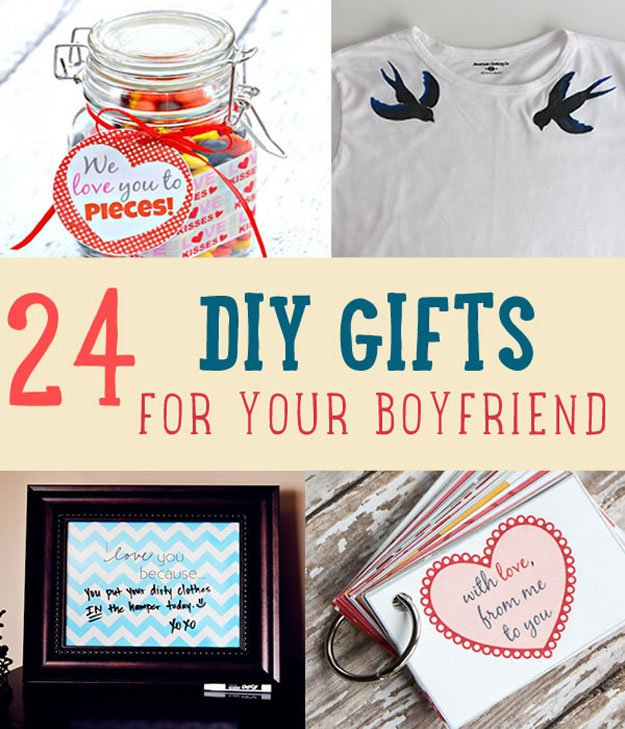24 DIY Christmas Gifts For Boyfriend DIY Projects