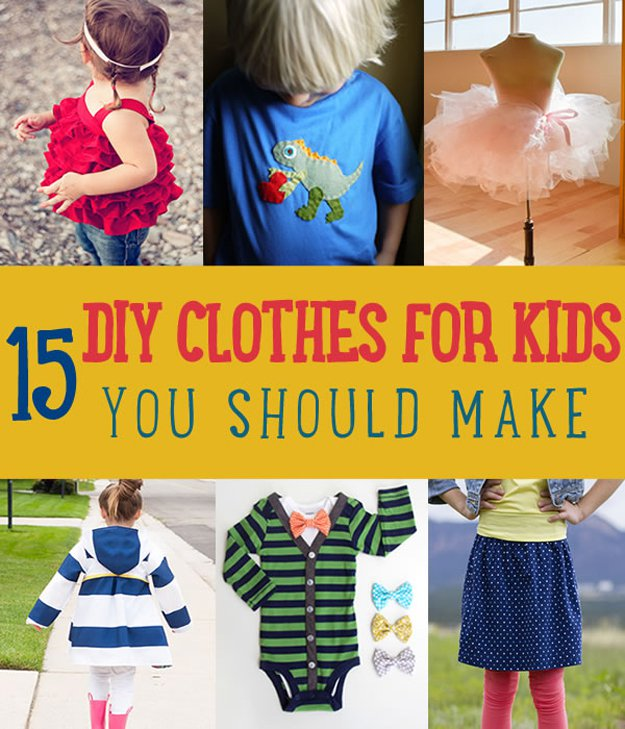 Diy Clothes For Kids Diy Projects For Home | Do It Yourself Ideas