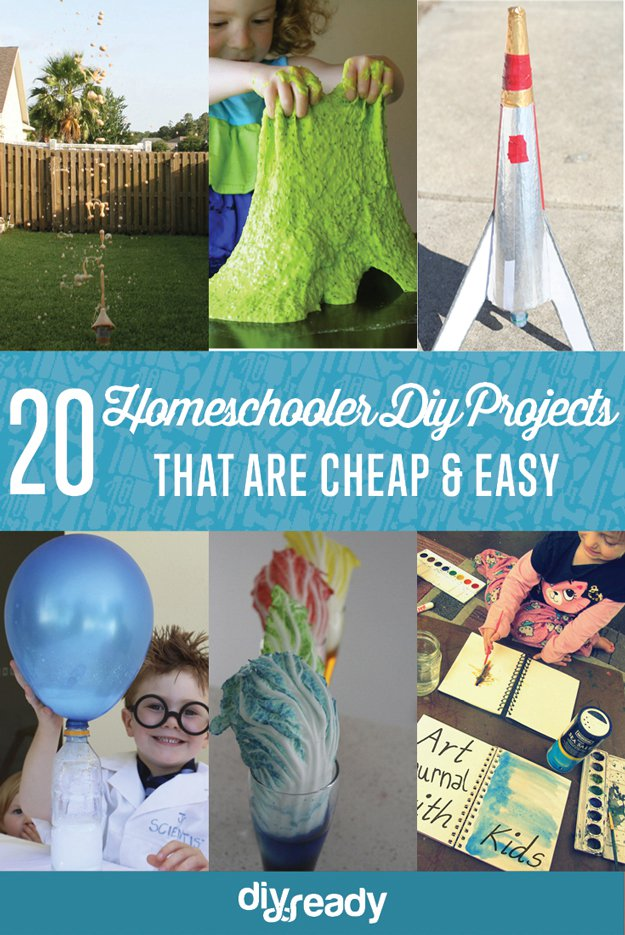 Cheap And Easy Diy Projects For Homeschoolers Diy Projects Craft Ideas How To S For Home Decor