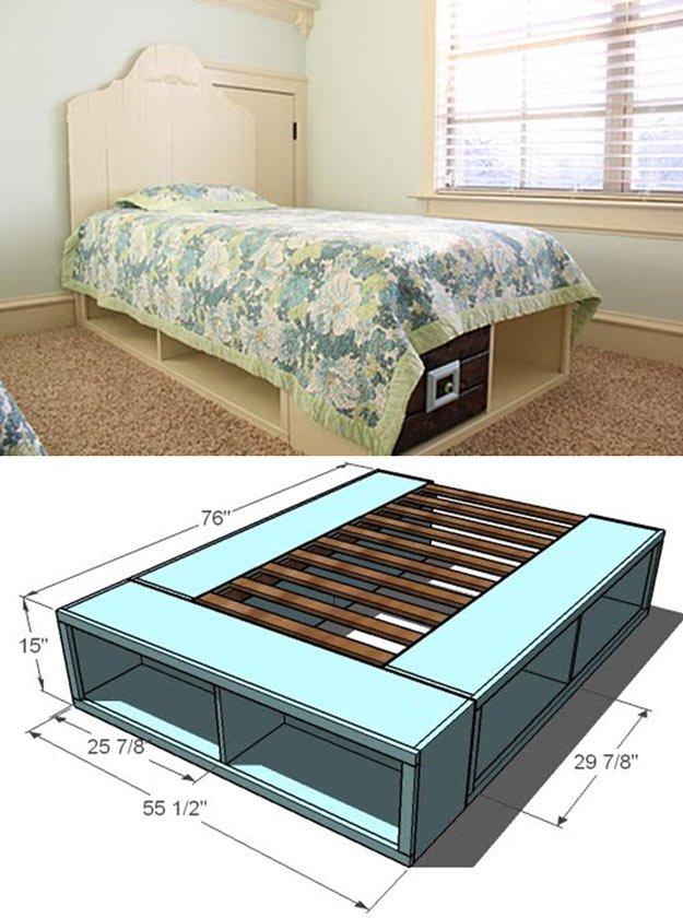 Diy platform bed ideas diy projects craft ideas amp how to