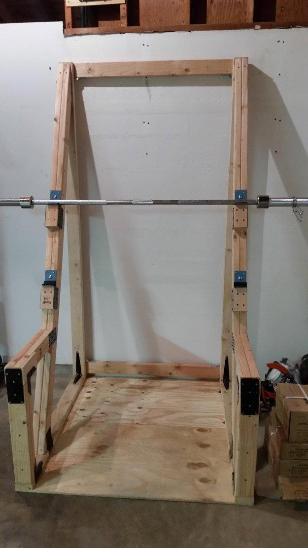 Homemade Truck Rack Plans Check Out 9 Diy Squat Rack