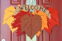 Fall Door Decorations and Wreaths DIY Projects Craft Ideas ...