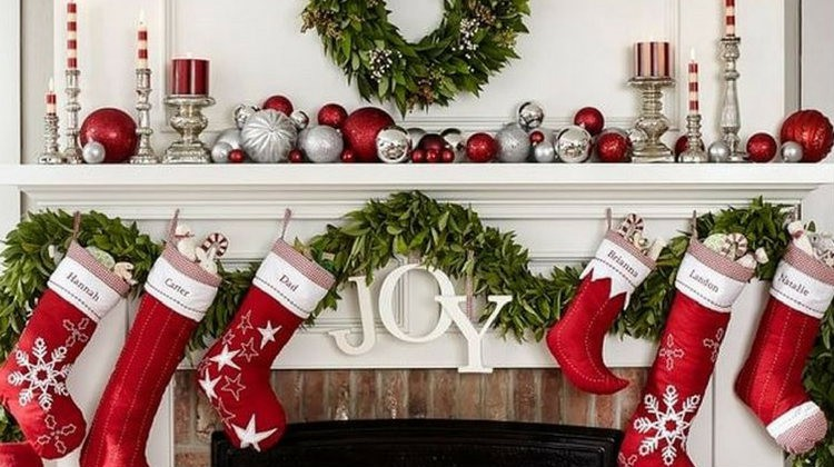 Mantel Decorating Ideas DIY Projects Craft Ideas \ How Tou0027s for - christmas mantel decor