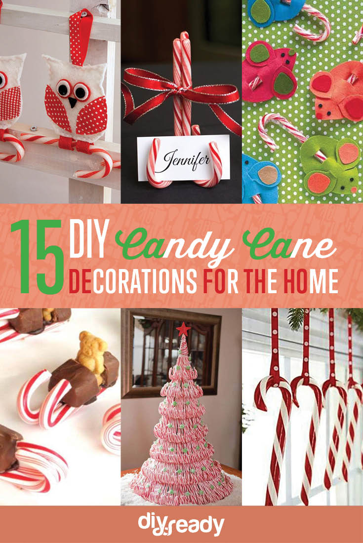 Adorable Diy Projects Decorating Home Diy Projects Interior Decorating Diy Candy Cane Decorations You Will See More At Diy Candy Cane Decorations Diy Projects Craft Ideas How home decor Diy Projects Decorating