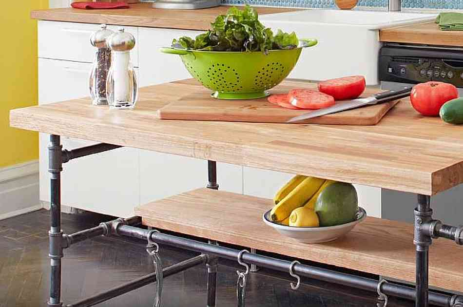 Diy Project How To Build A Butcher Block Island