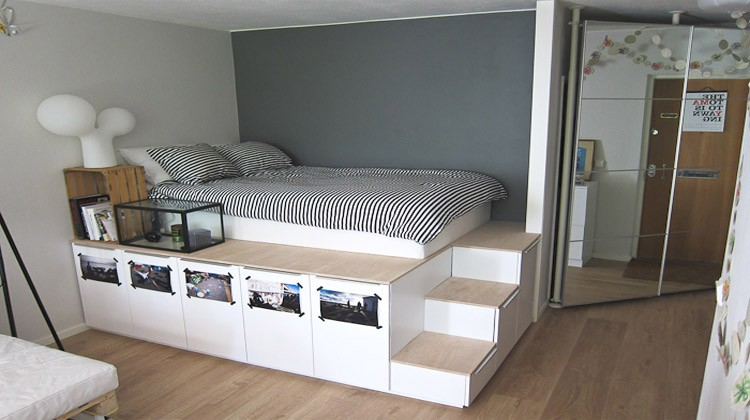 Lit Coffre 180x200 Ikea Diy Platform Bed Ideas | Diy Projects Craft Ideas & How To