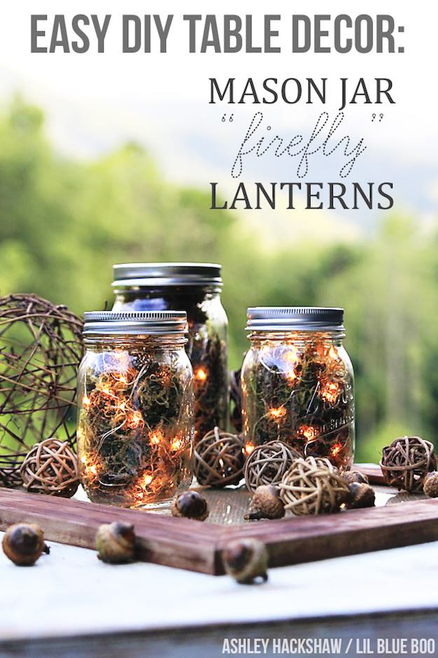 Fall String Lights Wallpaper Weddings 13 Rustic Mason Jar Centerpieces To Try Diy Projects