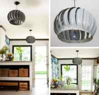 DIY Pendant Lighting Projects From Recycled Items
