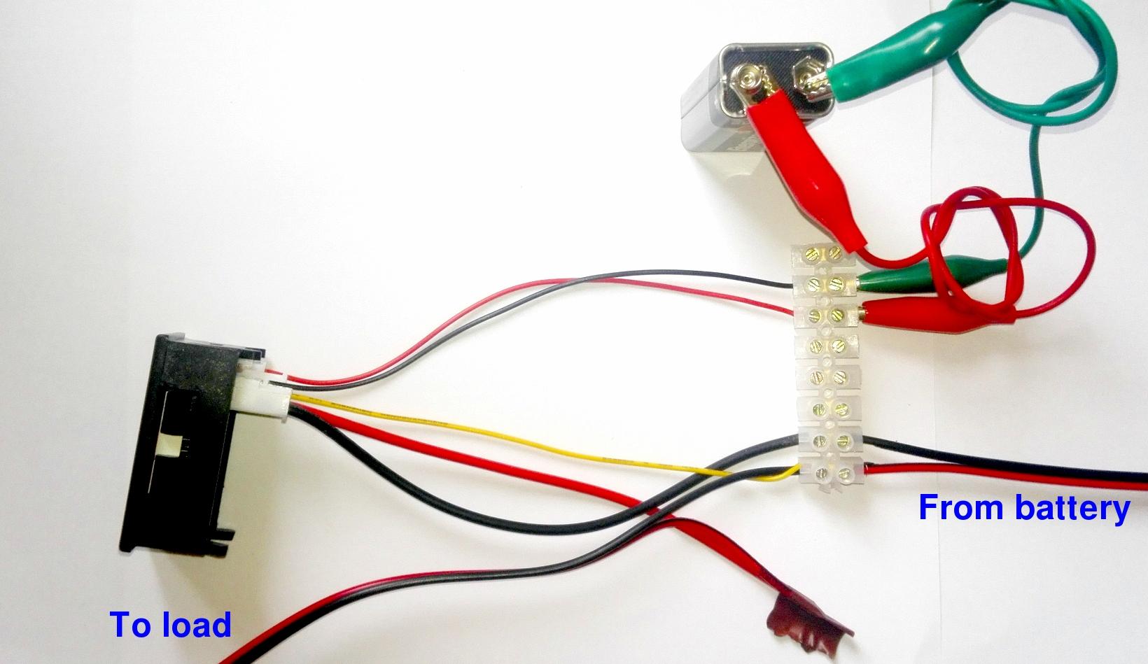 12v amp meter wiring diagram