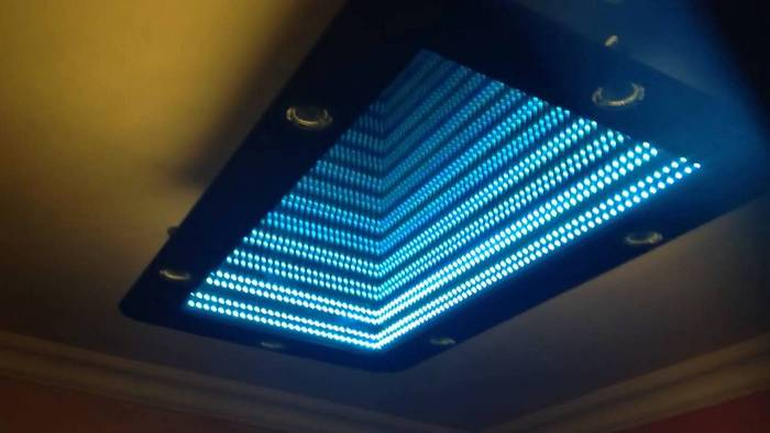 Mirror Frame Adhesive How To Make An Infinity Led Mirror Diy Projects For