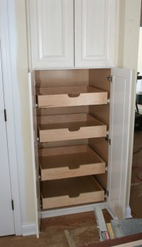 How to build pull-out pantry shelves | DIY projects for ...