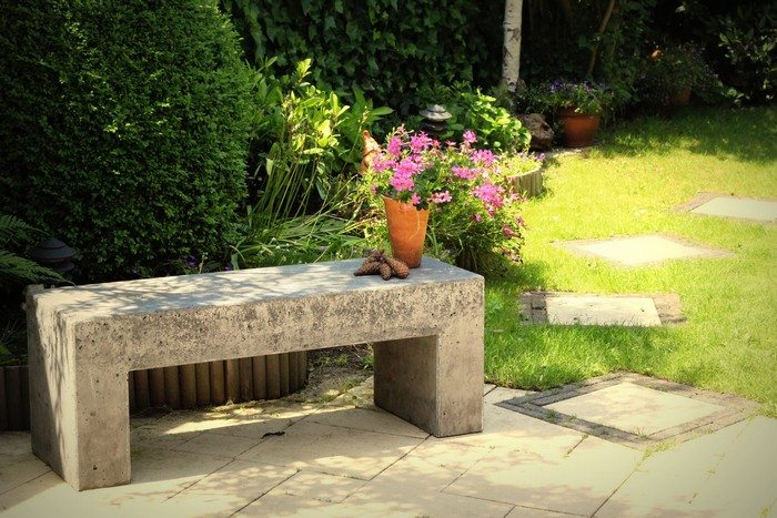 Möbel Aus Beton Diy How To Build A Concrete Garden Bench | Diy Projects For