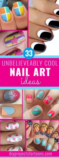 33 Cool Nail Art Ideas & Awesome DIY Nail Designs - DIY ...