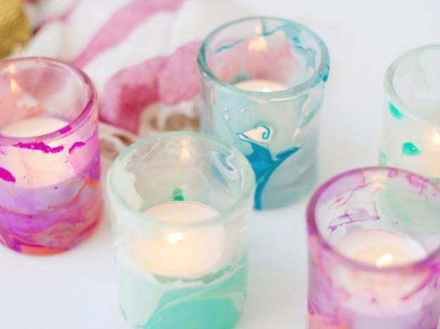 Glas Marmorieren Cool Crafts For Teen Girls