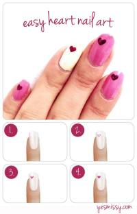 35 Fabulous Valentine Nail Art Ideas